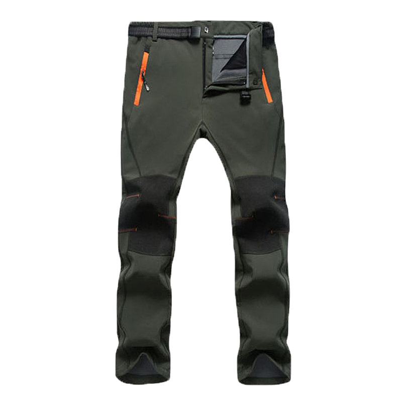 Men's Outdoor Breathable Warm Windproof Climbing Trousers