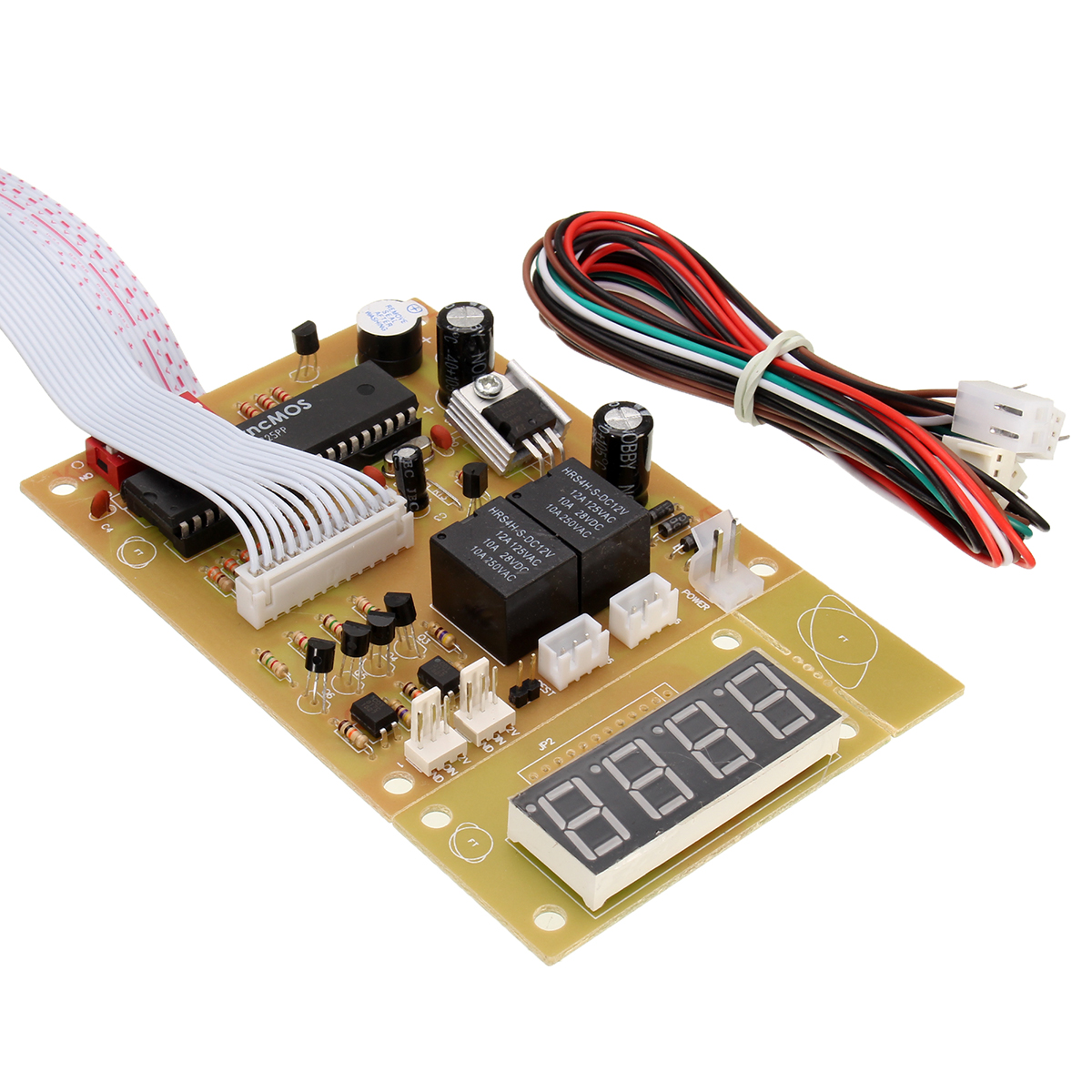 4-bit Time Controller Power Supply Timier Timing Board For Coin Acceptor Selector Washing Machine