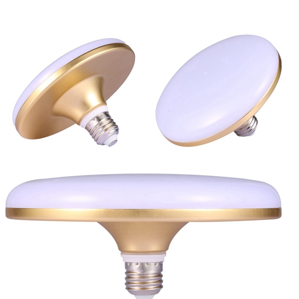 18W 24W 30W E27 Aluminum UFO LED Lamp Bulb High Power Energy-saving Spot Ceiling Light AC220V