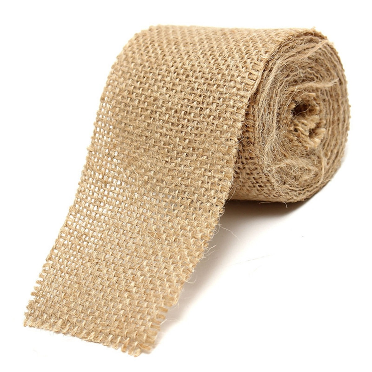 2M Jute Hessian Burlap Natural Craft Floristry Ribbon Rustic Wedding Party Decoration