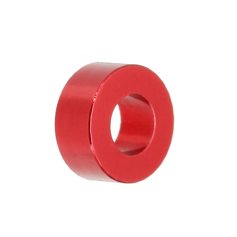 Suleve™ M3AN3 10Pcs M3 Thickening Flat Grommet Gasket Washer Spacer Multi-color Aluminum alloy