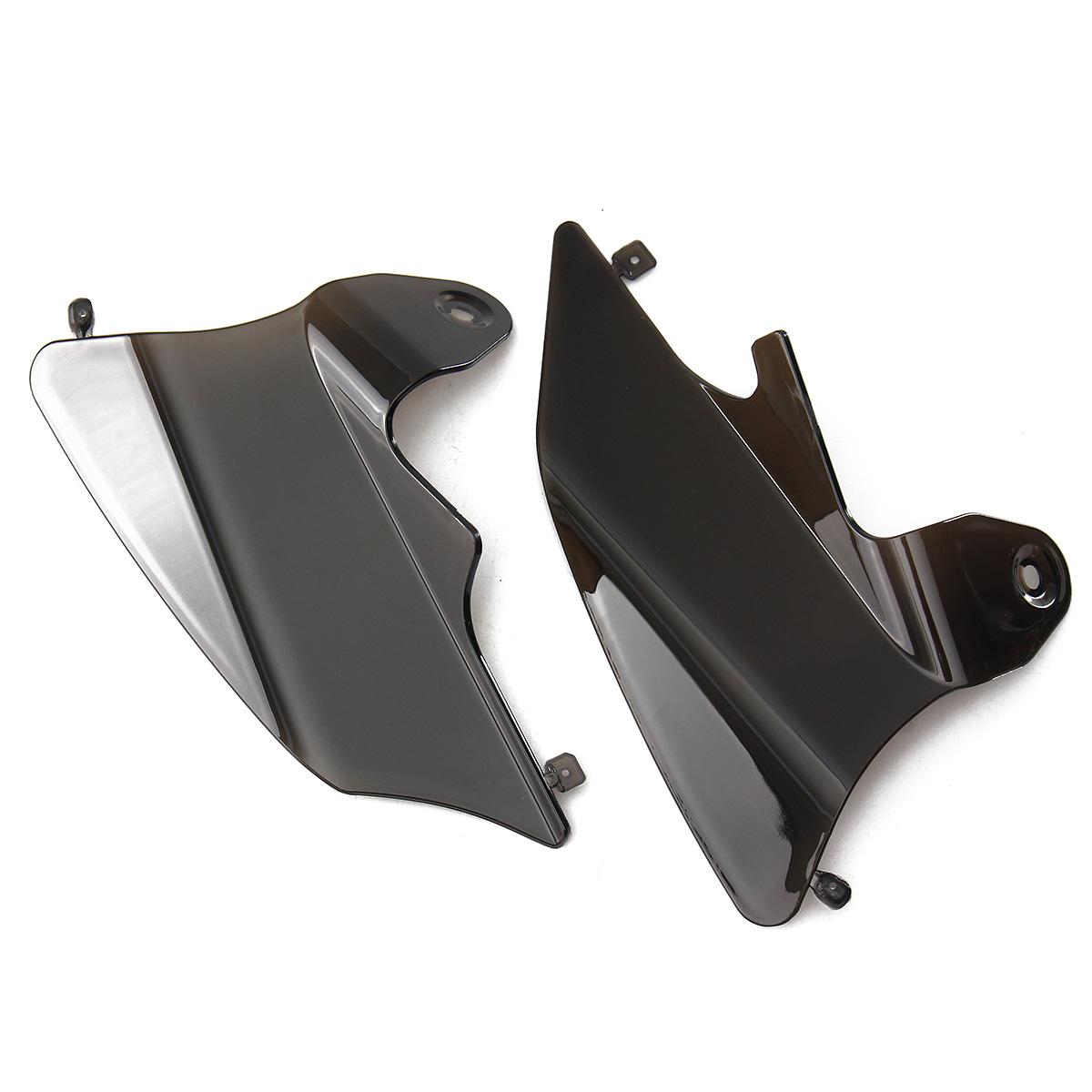 Reflective Saddle Shield Air Heat Deflector For 1997-2007 Harley FLHT FLTR Smoke