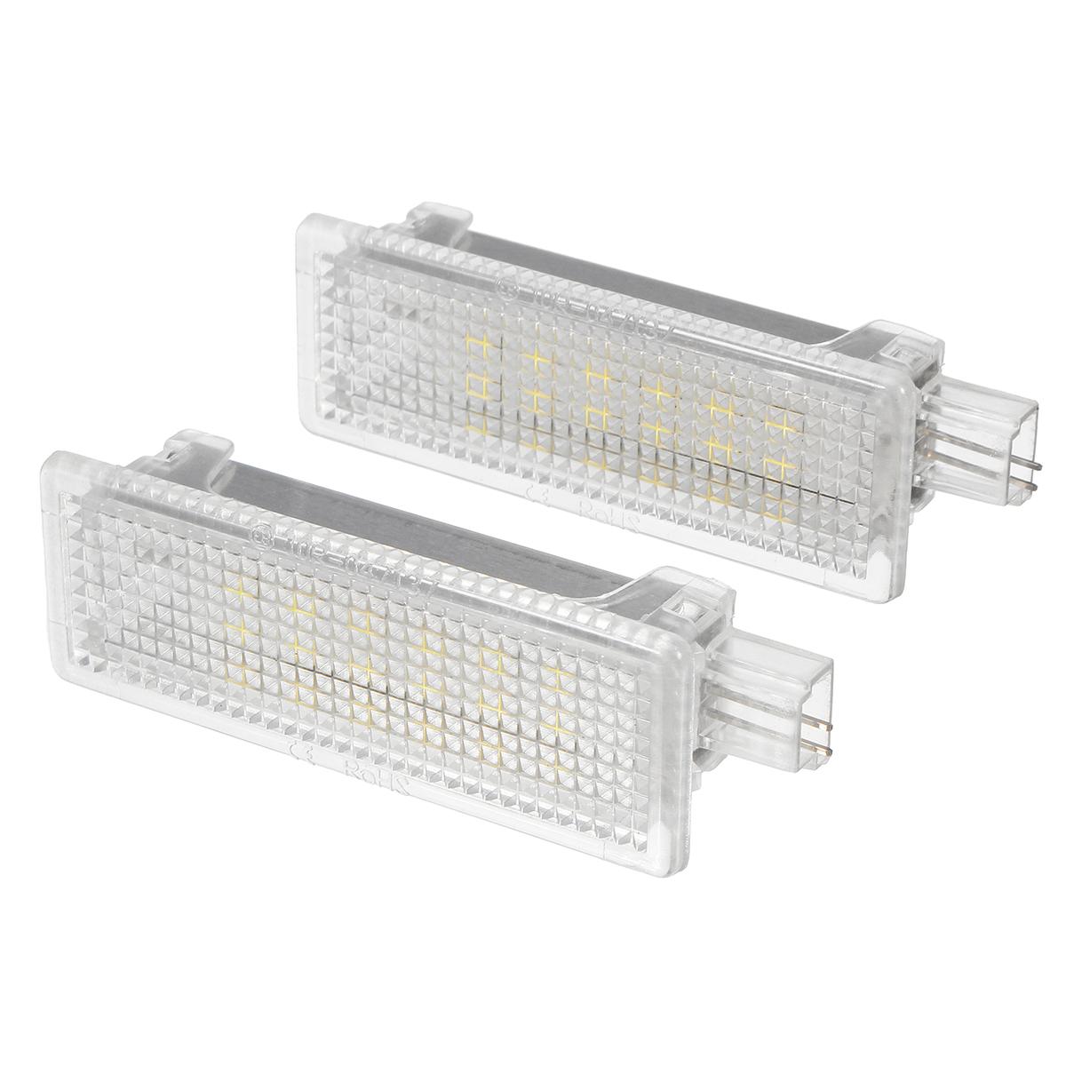 LED Footwell Light Door Courtesy Interior Puddle Lamp 2PCS for BMW E92 E81 E87 F20 E60 1 3 5 Series