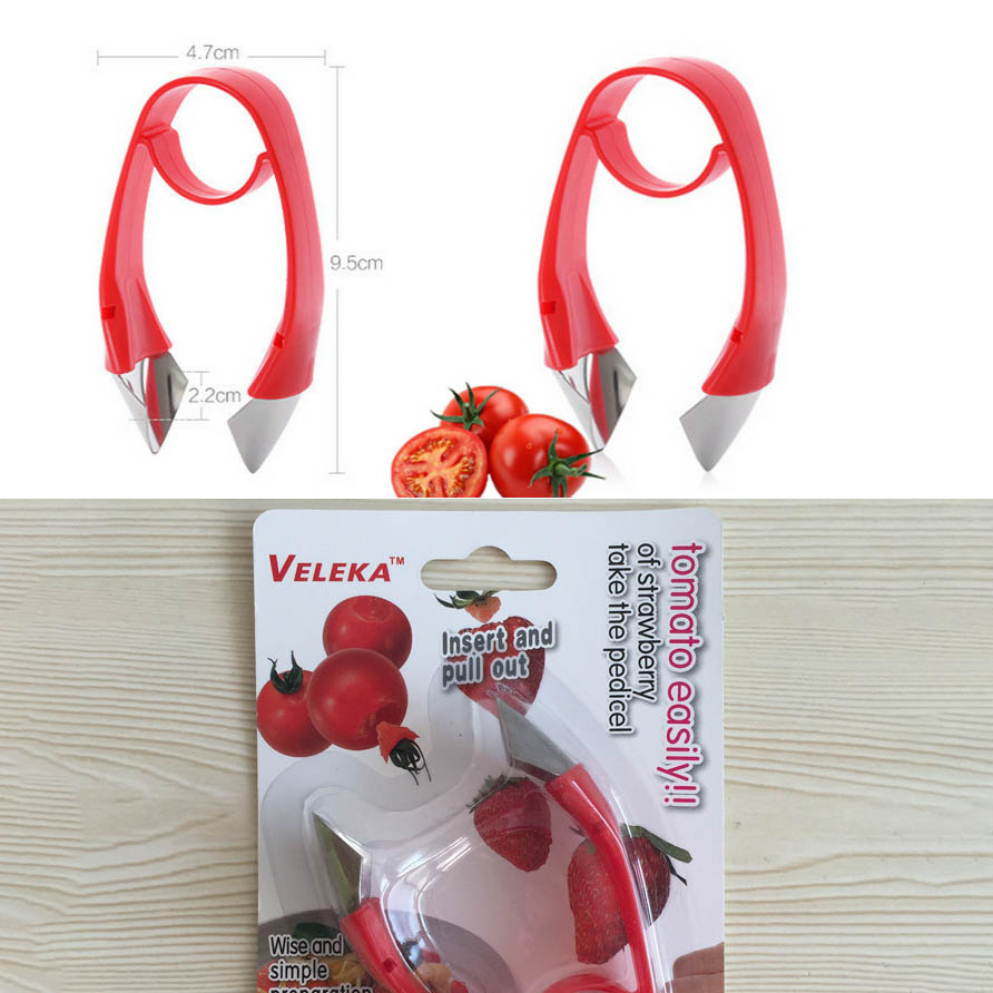 Honana KT-276 Creative Tomatoes Stainless Steel Cutter Core Separator Device Kitchen Tools Seed Remover