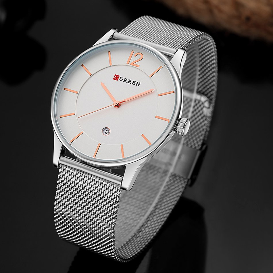 CURREN 8231 Ultra Thin Simple Luxury Male Quartz Wrist Watch