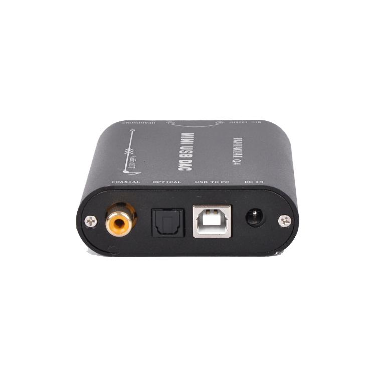 PJ.MIAOLAI Q4 HIFI 24Bit 192Khz Coaxial Optical USB Input DAC Headphone Out Amplifier Audio Decoder