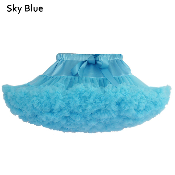 Kid Girls Lovely Bowknot Tulle Dance Princess Tutu Skirts Multi Colors