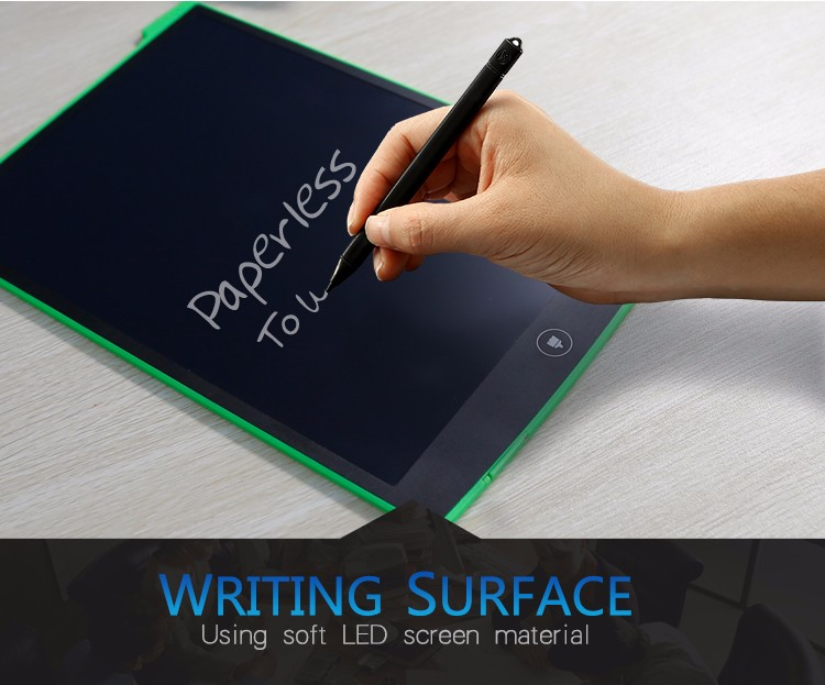 12 Inch LCD Update Multi function Writing Tablet 3 in 1 Mouse Pad Ruler Drawing Tablet Handwriting Pads