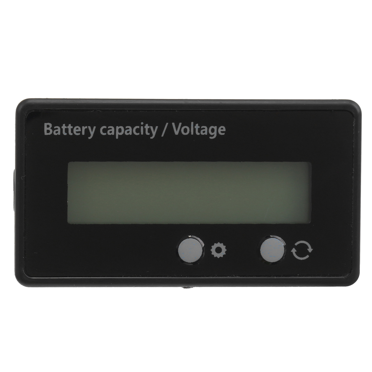 12V 6-63V LCD Acid Lead Lithium Battery Capacity Indicator Voltage Digital Voltmeter