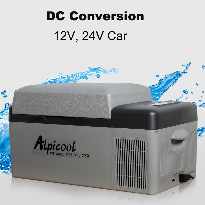 ALPICOOL C20 20L 12V 24V Digital Display with APP Conrtol Car Home Refrigerator Freezer Camping Boating Caravan Bar Mini Fridges