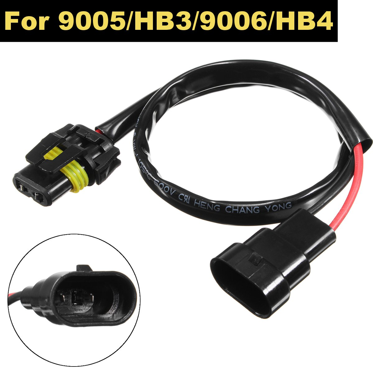 HB4 Wire Harness HID Xenon Power Cable Connector Ballast Socket Wiring Adapter Conversion