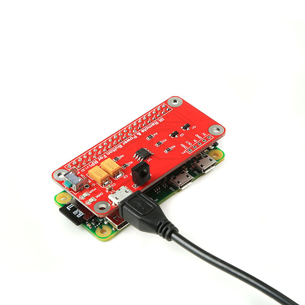 IR Remote And Power Botton Module Kit For Raspberry Pi