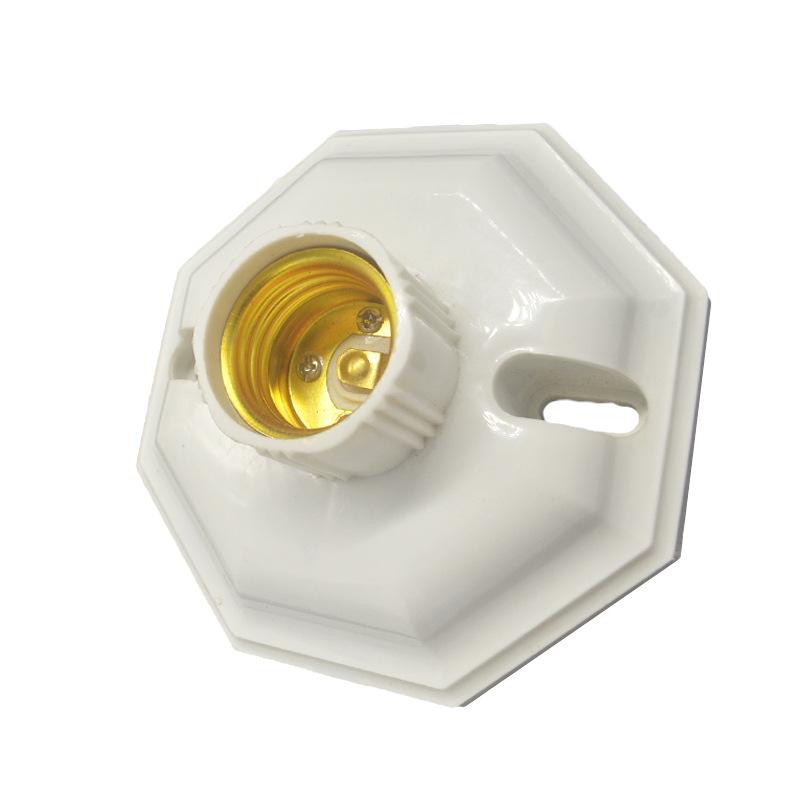 AC250V 6A E27 Lampholder Screw Base Socket Bulb Adapter for LED Light