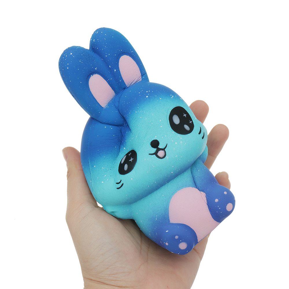 Squishy Galaxy Rabbit Kawaii Cute Slow Rising Soft Collection Gift ...