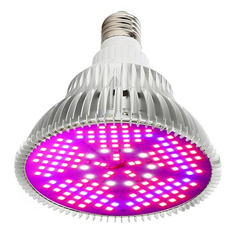 CLAITE 150 LEDs Grow Light Full Spectrum 100W E27 LED Plant Flowers Growing Growth LED Lamp for Indoor