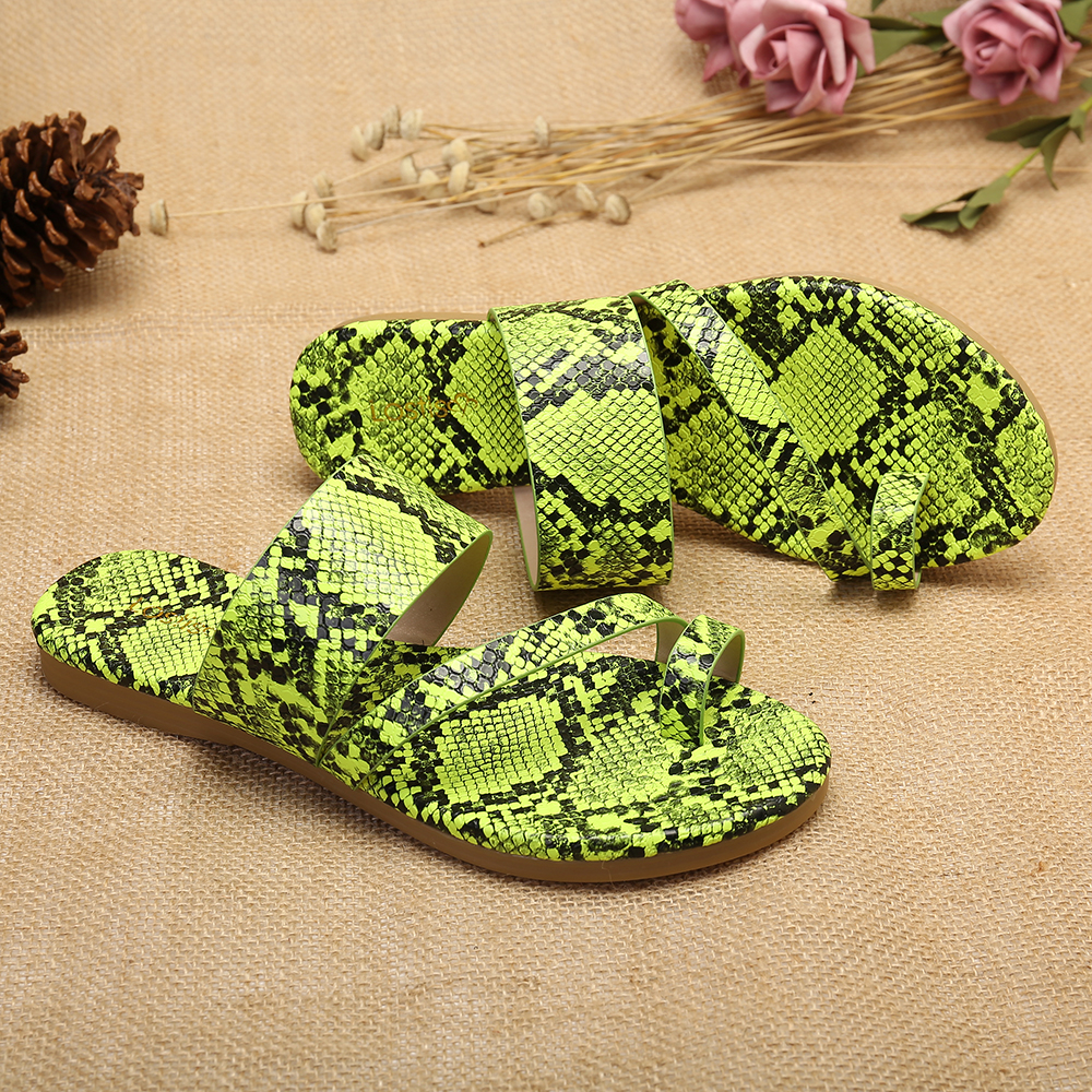 Lostisy Women Casual Comfy Clip Toe Slippers