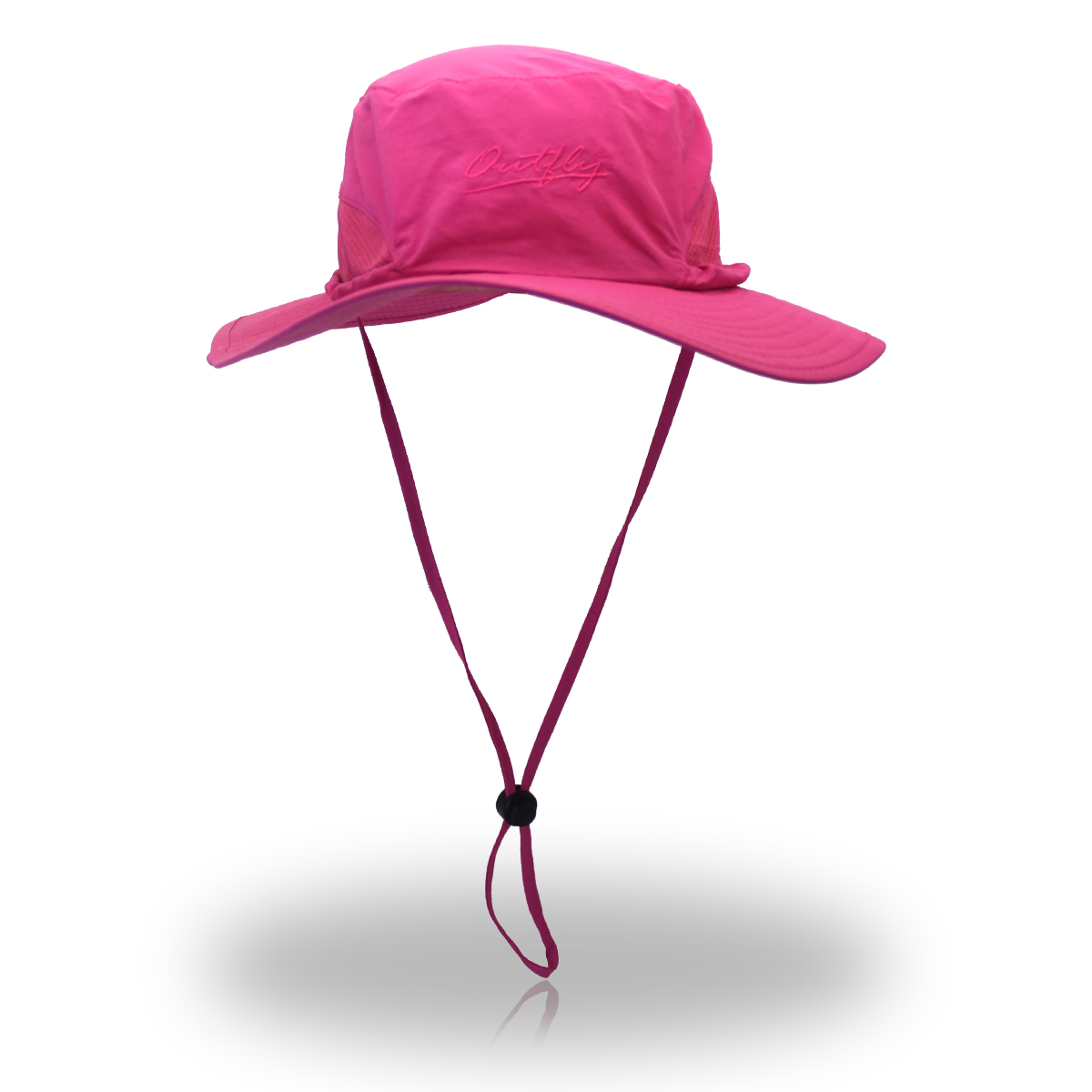 Unisex Mountaineering Fishing Mesh Cap Bucket Folding Outdooors Sun Hat