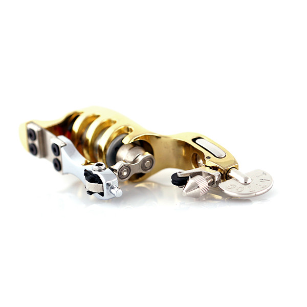 Ocoocoo A100 Brontosaurus Tattoo Machine High Performance 5000-8000R/M Aluminum Alloy Gold Black