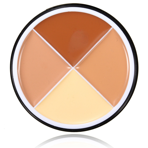 MENOW 4 Colors Concealer Palette Spot Blemish Cover Cream Makeup Contour Face Powder