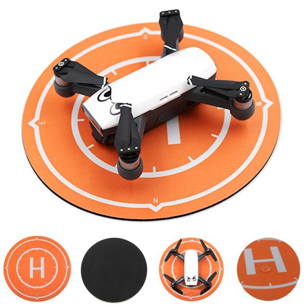 2pcs Drone Parking Apron 25CM Waterproof Portable Landing Pad for DJI Spark Mini Racer Quadcopter