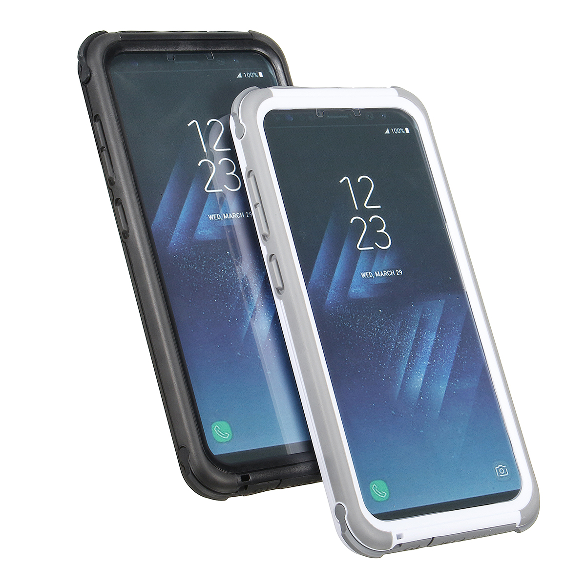 Image of 2 In 1 wasserdichtes schneesicheres staubdichtes Shockproof PC PET TPU Fall für Samsung Galaxy S8 Plus 6.2 ''
