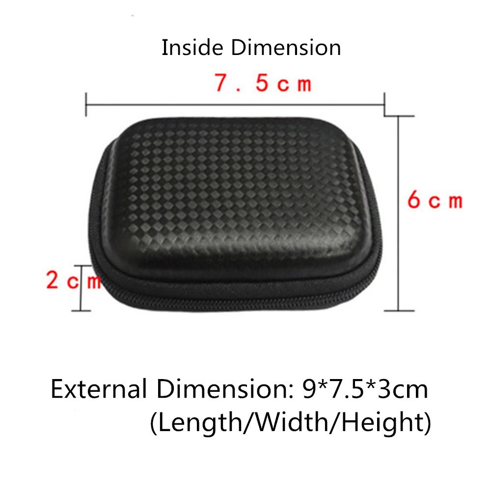 Portable Mini PVC Waterproof Storage Bag for Gopro hero7 6 5 4 3 3+ 2/XiaoYi/SJcam Camera Accessories
