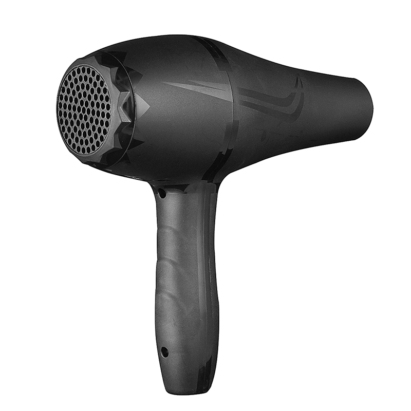 2000W Electric Hair Dryer Black Professional AC 220V Strong Wind Hot Cold Air Thermostatic
