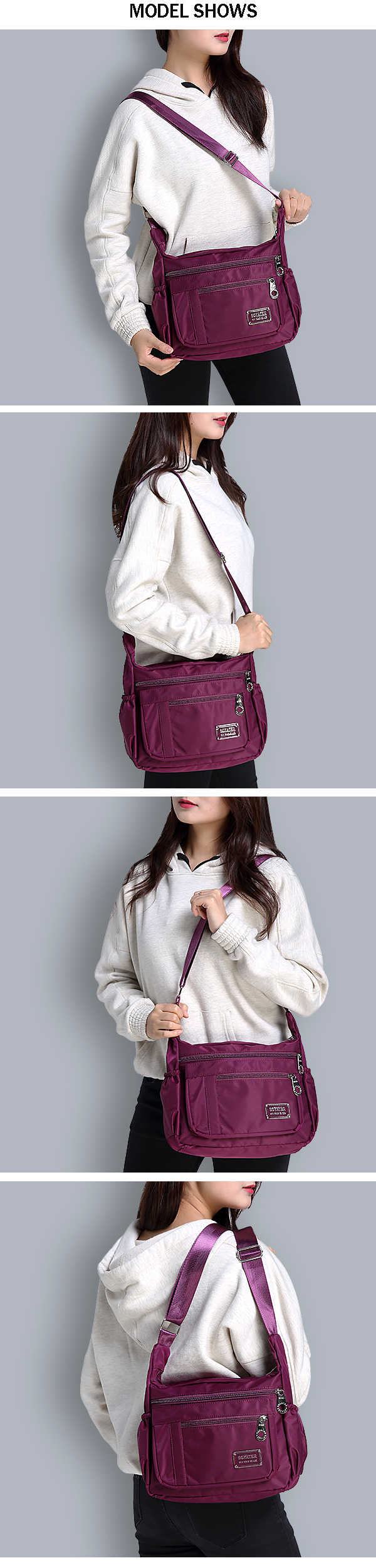 Women Nylon Crossbody Bags