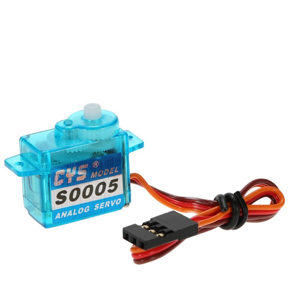 CYS-S0005 5g Light Weight Plastic Gear Micro Analog Standard Servo for RC Fixed-wing Aircraft - Photo: 5