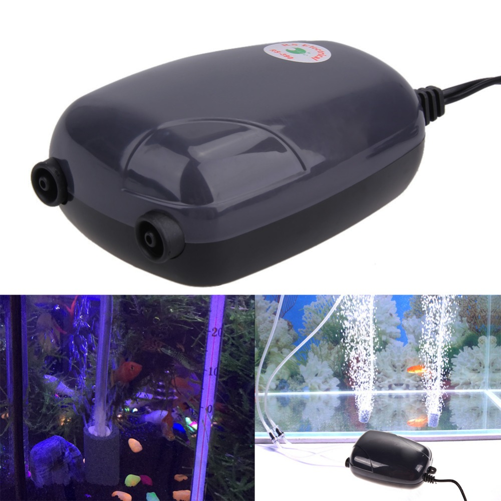 Air Bubble Disk Stone Aerator Aquarium Fish Tank Pond Pump Hydroponic Oxygen Air Pump Air Hose Pipe