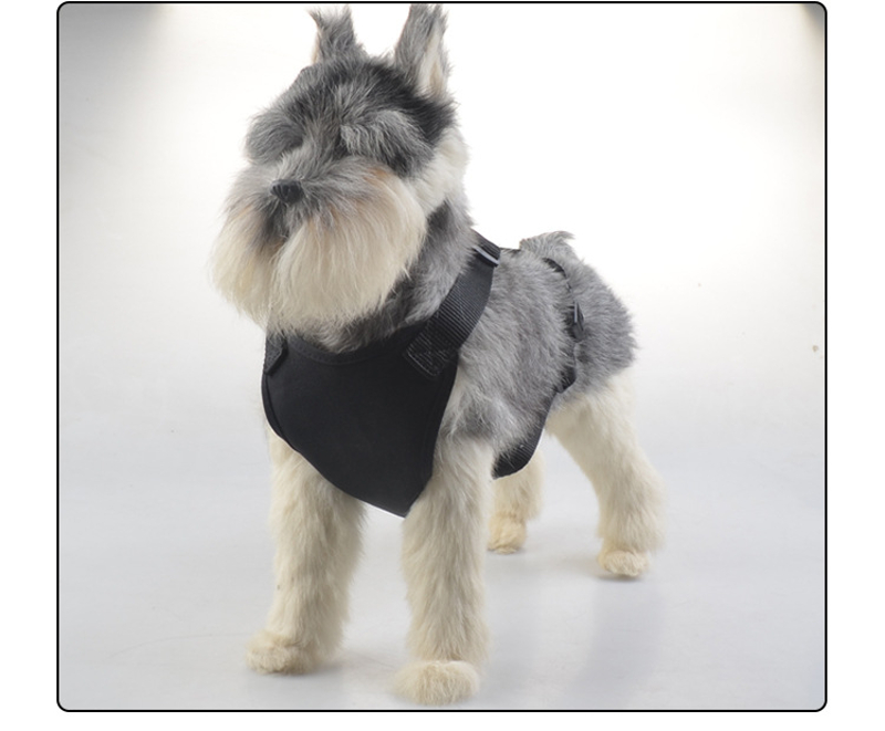 Pet Vehicle Safety Chest Strap Soft Oxford Mesh Dog Car Seat Belt Harness For Medium small Dogs