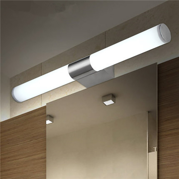 22W 55CM White/Warm White Aluminium LED Front Mirror Wall Light Modern Bathroom Lamp AC85-265V