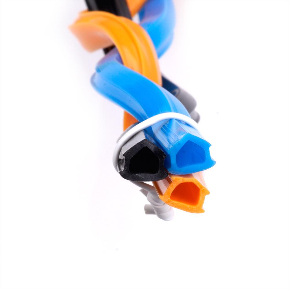 1Meter Black/Orange/Blue 2020 Aluminum Profile Slot Cover/Panel Holder for 3D Printer