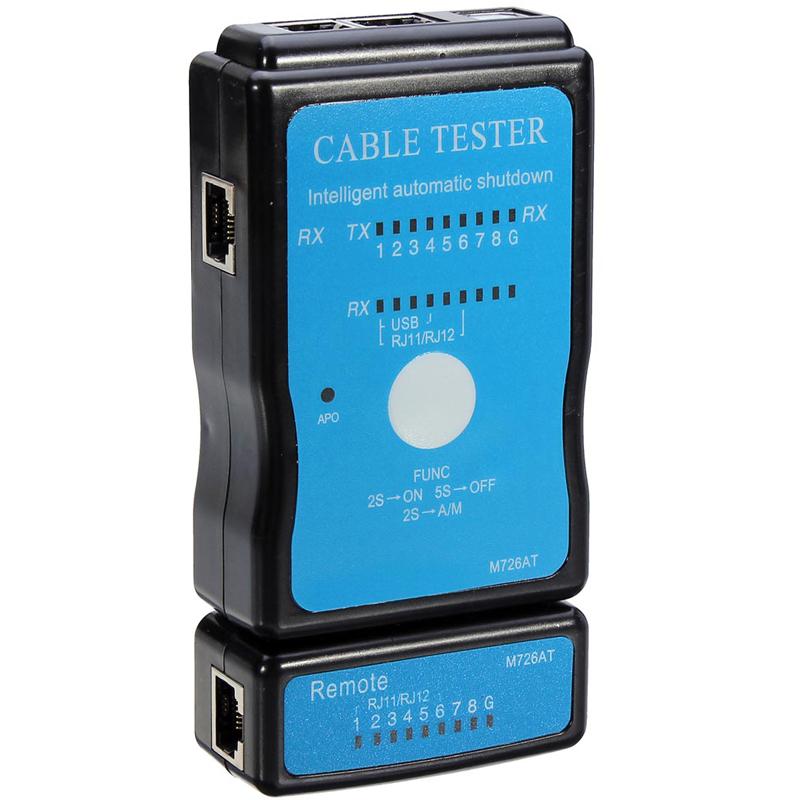 Công Cụ Kiểm Tra Cáp Mạng Phổ Quát Bộ Phát Hiện Cáp Lan Micro Usb Rj45 Công Cụ Mạng Ethernet Rj11