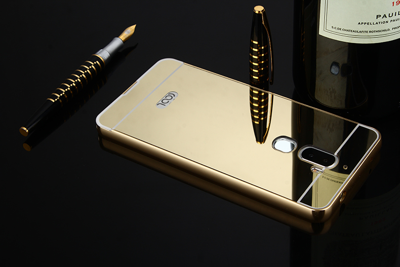 Bakeey Luxury Plating Mirror Metal Frame Protective Case For LeEco Coolpad Cool1/ LeRee Le 3