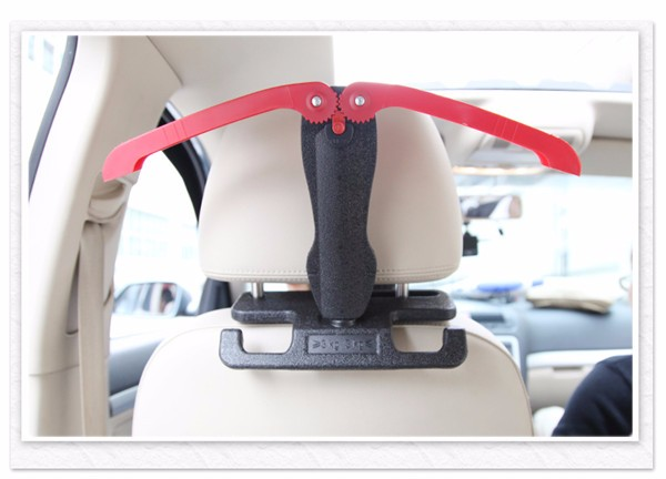 Car Coat Hanger Universal Folding Safety Handle Chair Back Rack Hook Two Colors