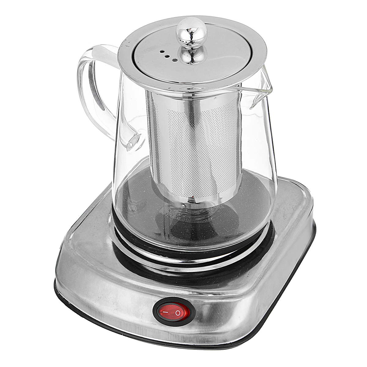 Electric Stove Mini Coffee Brewing Tea Stove Glass Tea Maker Electric Kettle Water Heater