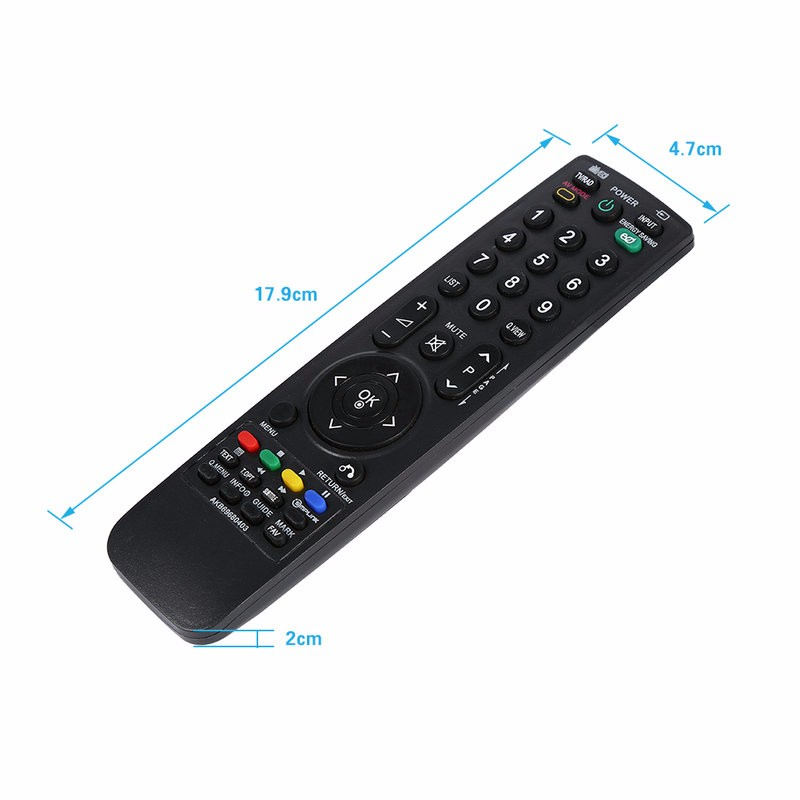 Replacement Remote Control for LG TV Smart LCD LED HD AKB69680403