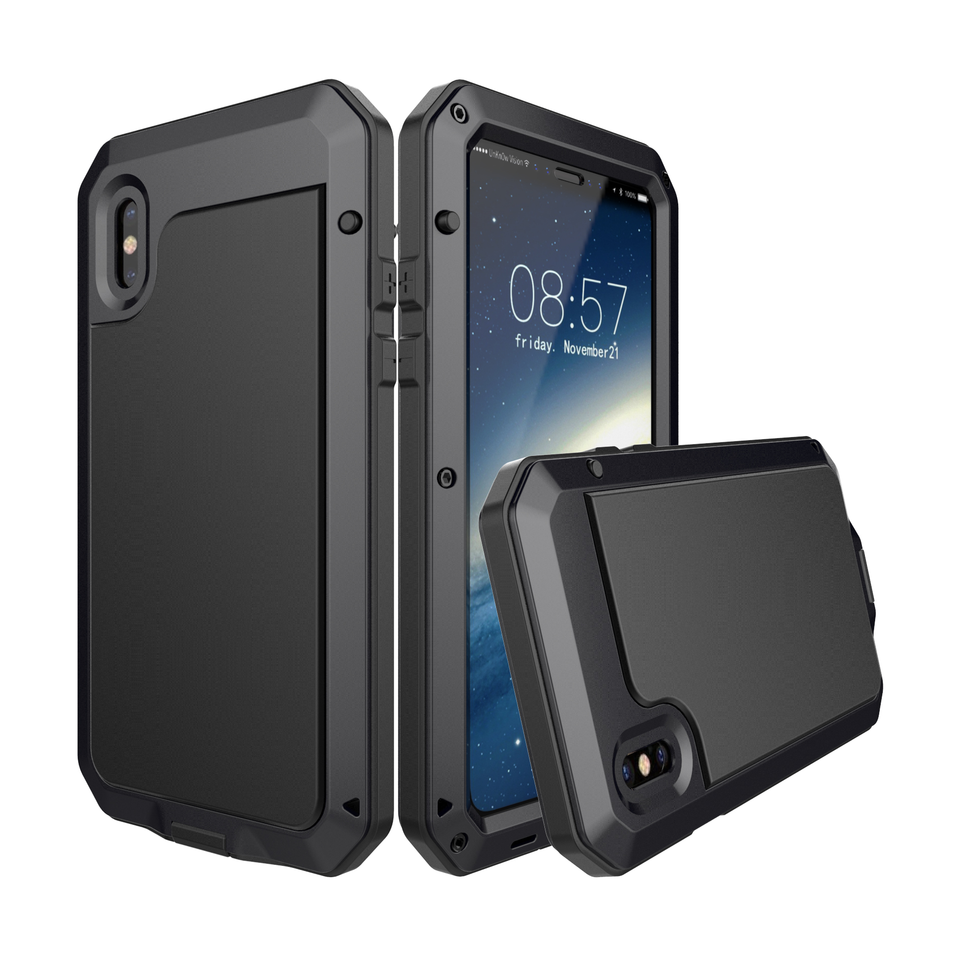 Aluminum Waterproof Shockproof Protective Case For iPho