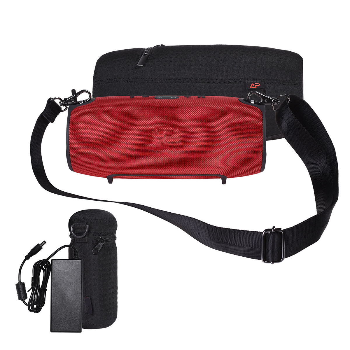 Lycra Zipper Carrying Case Bag For JBL Xtreme Bluetooth