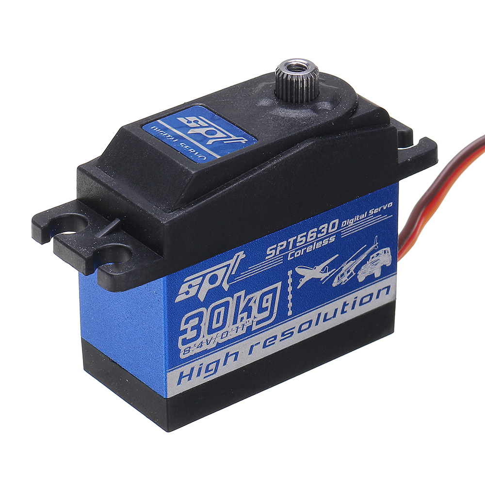 SPT Servo SPT5630 Digital Servo Coreless 30KG 90° Metal Gear For RC Helicopter Car Boat - Photo: 3