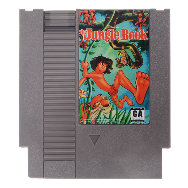 The Jungle Book 72 Pin 8 Bit Game Card Cartridge for NES Nintendo