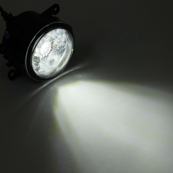 2pcs h11 55w 6000k led front fog lamp daytime running