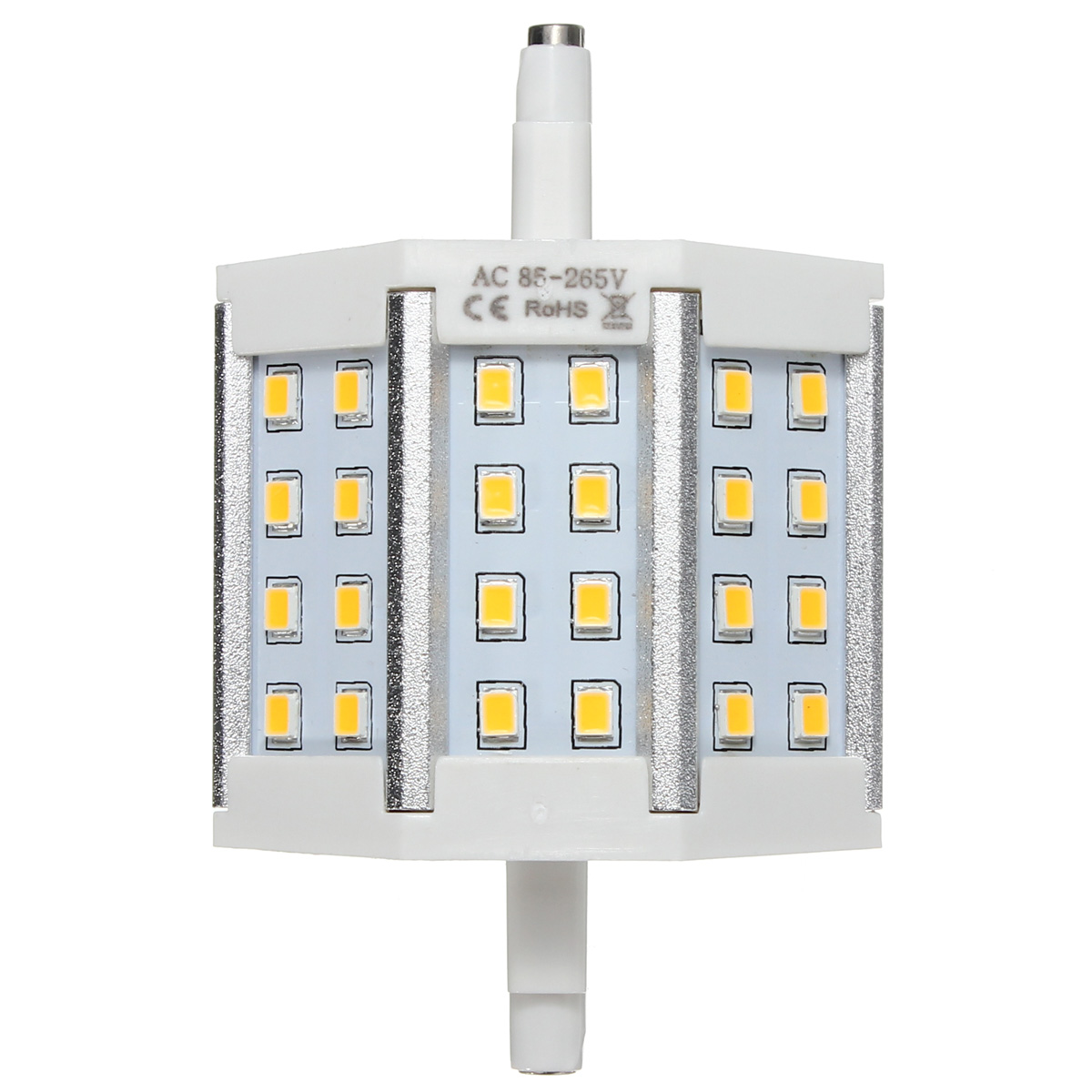 R7S 10W 24LEDS Bright 2835 440LM LED Bulb Flood Light Lamp Replacement AC 85-265V Non-Dimmable