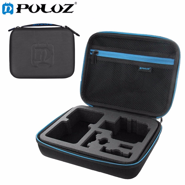 PULUZ Waterproof Carrying Travel Case Portable Bag Accessories for Gopro SJCAM Yi