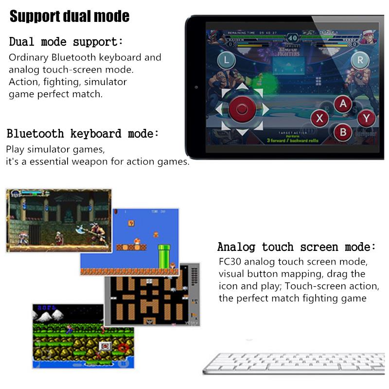 8BITDO FC30 Retro bluetooth Wireless Controller Gamepad for IOS PC Android