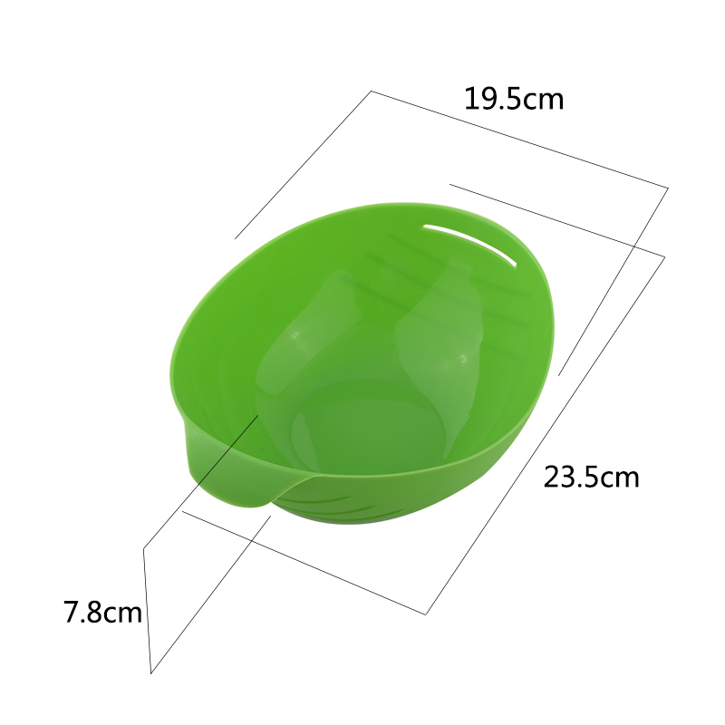 Honana BX 121 Silicone Steamed Fish Bowl Steamer Microwave Steaming Roast Food Oven Fish Kettle Poacher Cooker Food Vegetable Bowl Basket Kitchen Cooking Tools