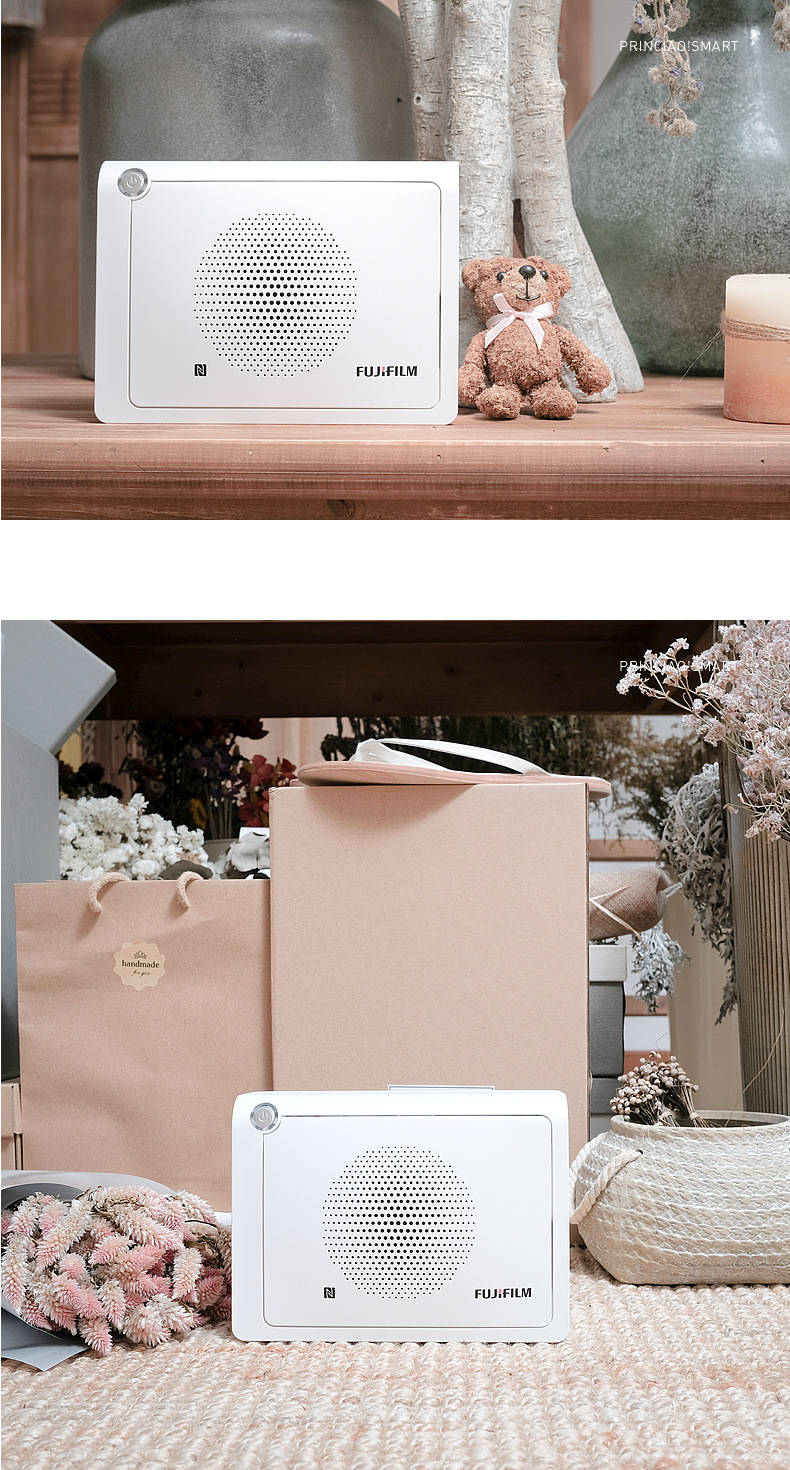 Princiao Smart Mini Photo Printer Support Androids 4.1.2 System Wireless Smartphone Color Printing
