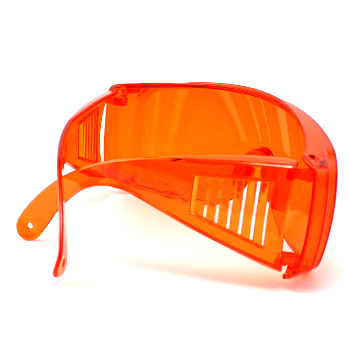 445nm Blue-violet Laser Protective Goggles OD4+ 200-540nm Eye Protection Safety Glasses Orange
