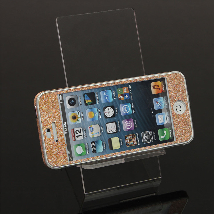 Universal Clear Transparent Acrylic Desk Stand Dock Holder for iPhone Mobile Phone
